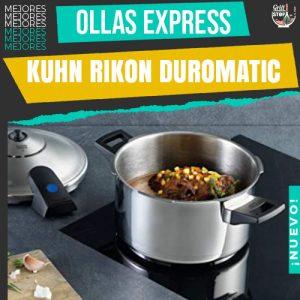 mejores-ollas-express-kuhn-rikon-duromatic